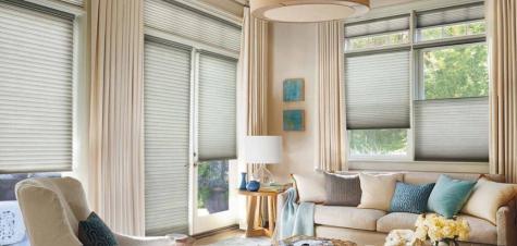 cortina de tela para sala